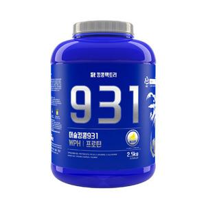 킹콩팩토리 단백질보충제 프로틴 머슬킹콩 931(WPH92%, 단백질42g/1회60g, 2.5kg)
